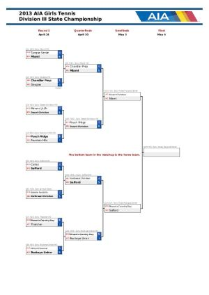 Div. III Team Bracket