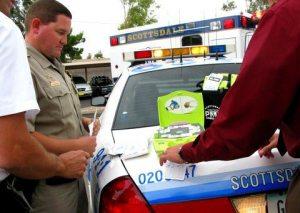 Defibrillators donated to Scottsdale police