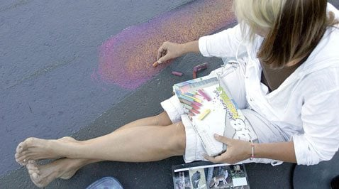 Bella Strada brings art to the streets