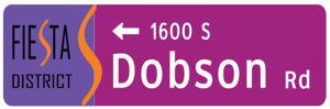 Fiesta District signage