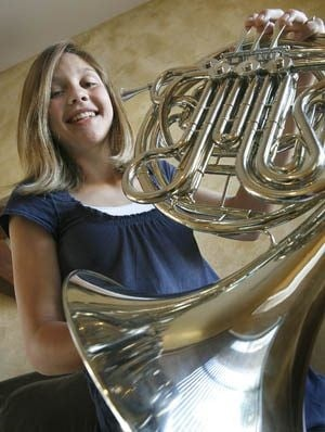 Higley eighth-grader shows versatility in school activities 