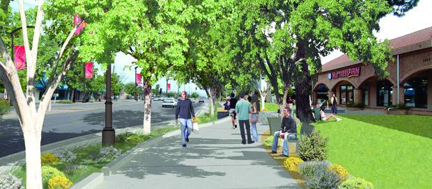 Fiesta District improvements