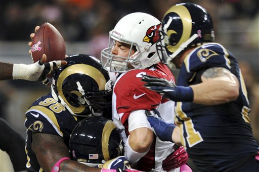 Kevin Kolb, Chris Long, Robert Quinn, Kendall Langford