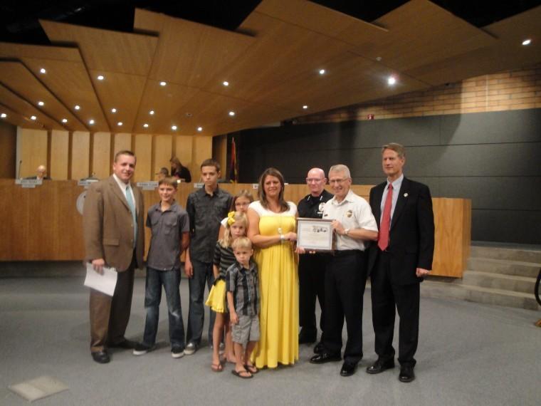 Gilbert Police Award