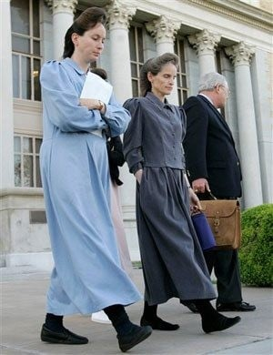 Polygamist clothing has roots in 19th century and 1950s