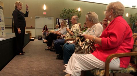 Seniors learn how to avoid being victims