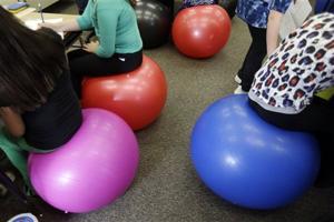 Yoga Balls Classroom