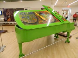 Chihuly Piano