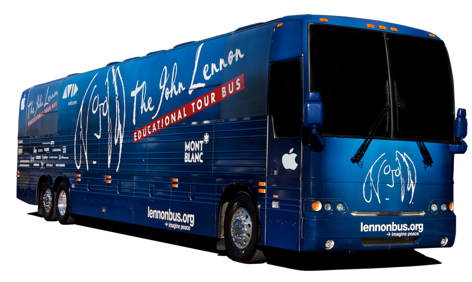 The John Lennon Educational Tour Bus