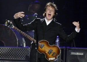 McCartney to kick off next tour in Valley