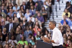 Obama at DVHS