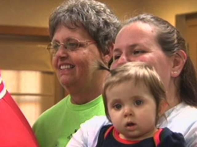 Heidi Markus and family