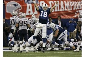 Manning marches Colts into Super Bowl