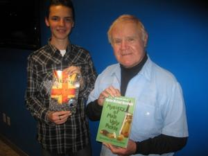 Never too young -- or old -- to write a book