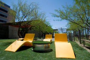 Hospitals' gardens help the healing