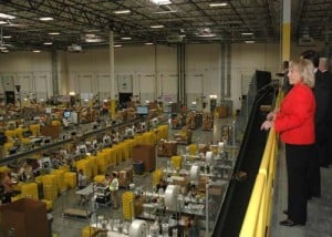 Brewer tours Amazon