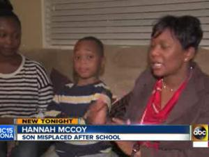 Gilbert school misplaces 5-year-old