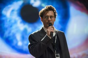 "<p>This image released by Warner Bros. Pictures shows Johnny Depp in a scene from ""Transcendence."" (AP Photo/Warner Bros. Pictures, Peter Mountain)</p>"