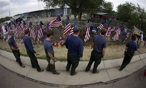 Firefighteers Killed Day of Darkness