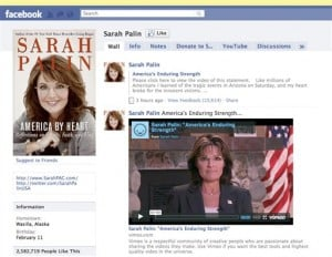 Congresswoman Shot Palin