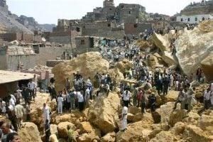 Rock slide in Cairo shantytown kills 24 