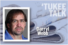 Tukee Talk Darryl Webb