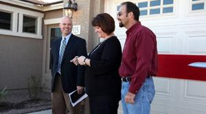 Contest winners take keys to Gilbert home