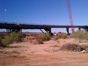Mesa bridge collapse