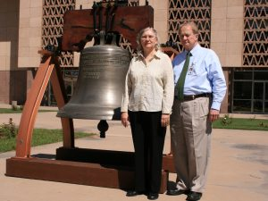 Arizona Liberty Bell returns to Capitol