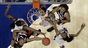UConn wins NCAA title in 76-54 rout of Louisville 