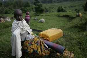 Rebels seize east Congo army camp, thousands flee 