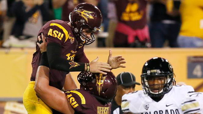 Arizona State defeats Colorado
