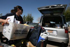Queen Creek upgrades to postal trucks