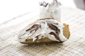 Food DIY Nutella Marshmallow Spread