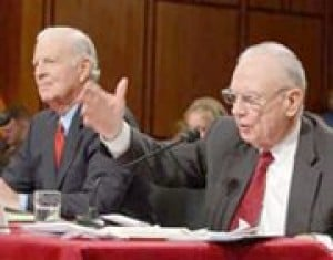 Senators question Iraq panel's blueprint