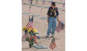 Former POW spreads patriotism with traditional Memorial Day rite