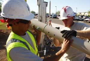 Shade to protect Higley school's kids from sun