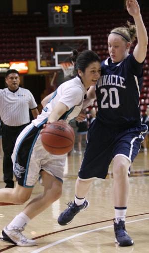 Division I Girls Semifinal Basketball