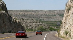 Speeding cars get green light on Texas highway