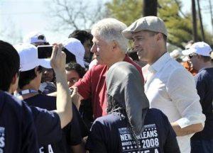Bill Clinton, Pitt break ground in N.O.
