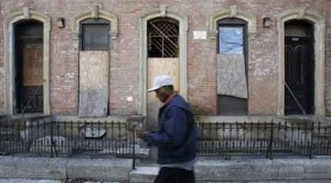 Empty neighborhoods fill Rust Belt