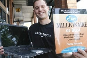 eBay fertile ground for young entrepreneur