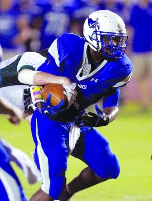 Switching gears turned Thomas into state's leading rusher