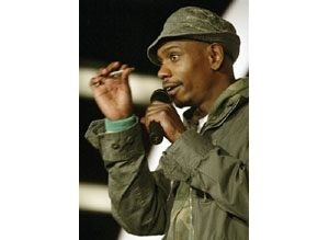 Dave Chappelle: 'I AM crazy!'