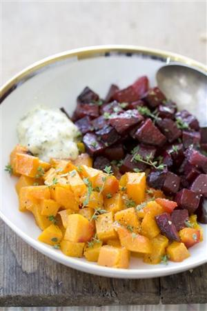 Food Thanksgiving Squash And Beets