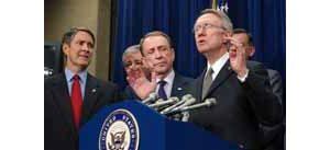 Bush blames Reid on immigration bill