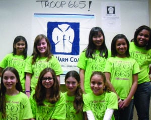 Ahwatukee Girl Scouts collect coats for Maggie's Place