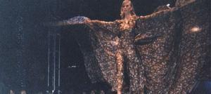 Teen Gilbert model makes runway bow