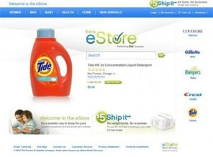 P&G jumps into online retail, tests new site 