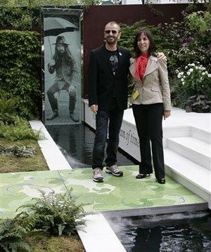 Beatlemania comes to Chelsea Flower Show